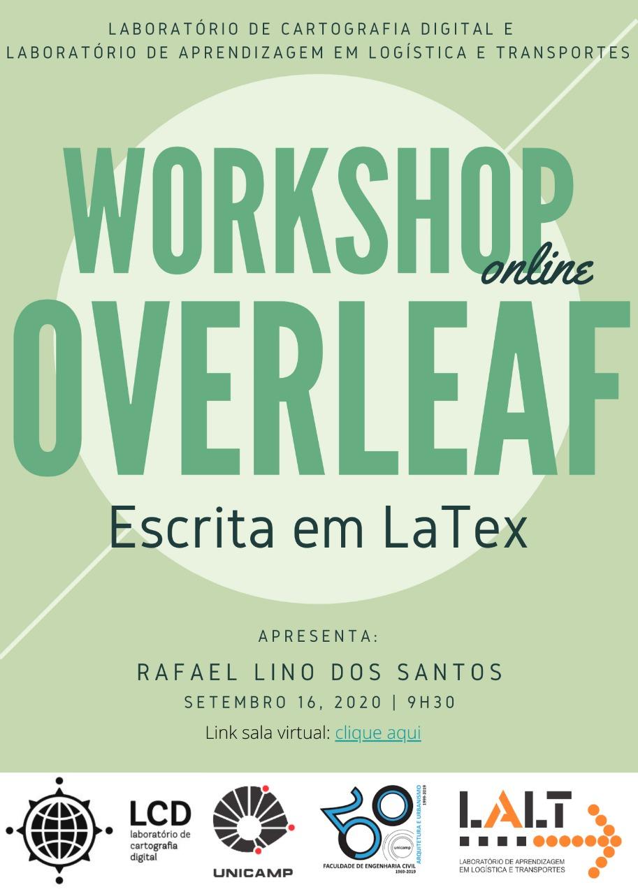 Workshop: Overleaf – Escrita em LaTeX